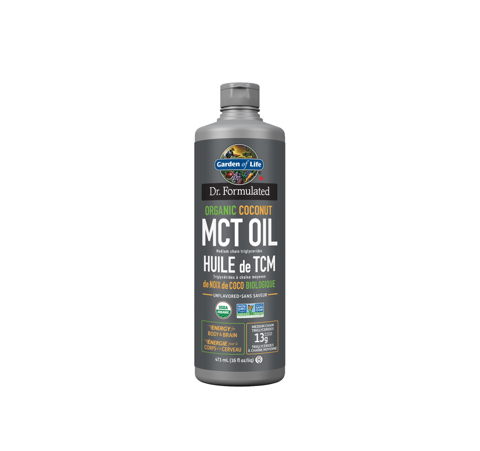 Garden of Life Dr. Formulated 100% Organic MCT Oil 473ml