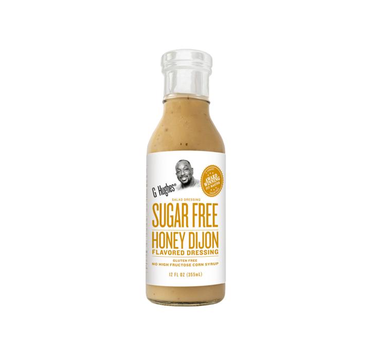 G Hughes SF Honey Dijon Dressing 355ml