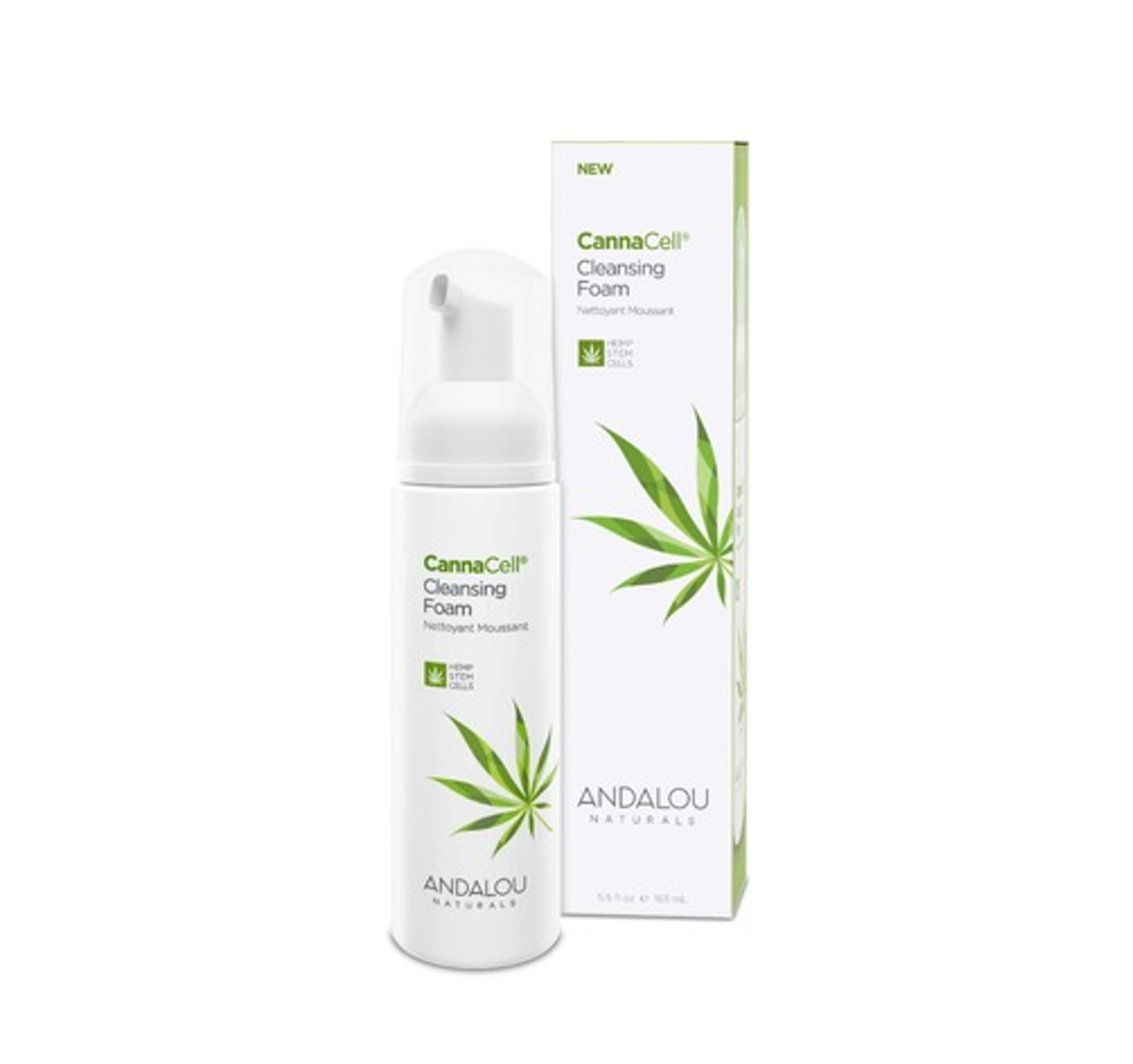 Andalou Naturals - CannaCell Cleansing Foam 163mL