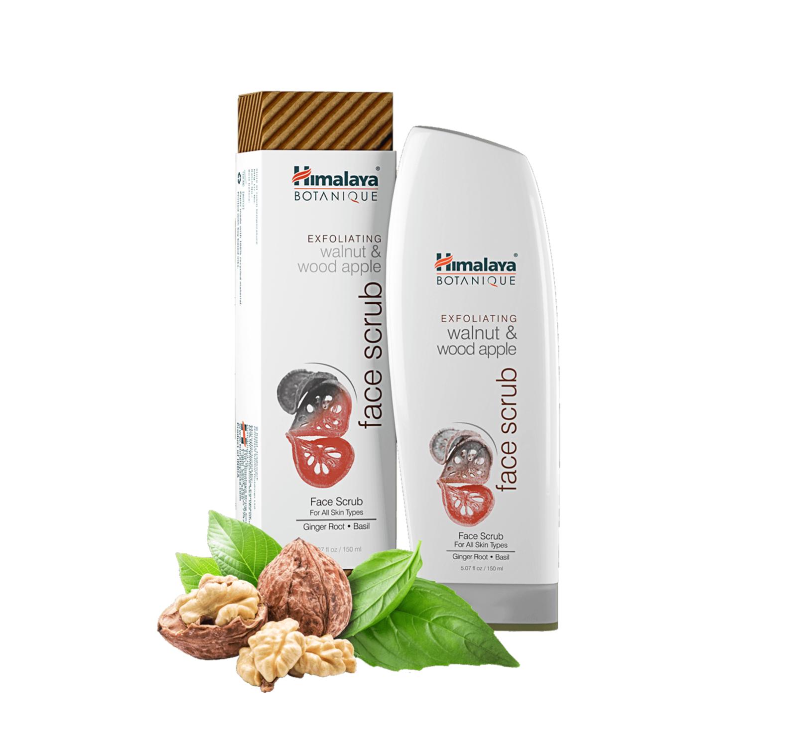 Himalaya Face Scrub: Exfoliating (Walnut & Wood Apple) 150ml