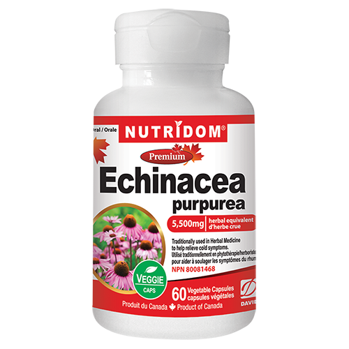 Nutridom Echinacea 60 Vcaps